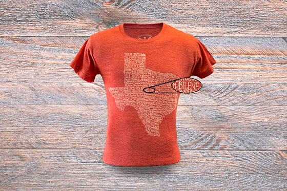 34b971fb1 Texas Towns t-shirt by Tumbleweed Texstyles. Available in several colors  and styles.